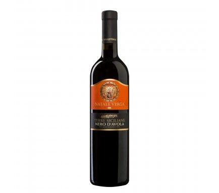 Red Wine Verga Nero D'Avola 75 Cl