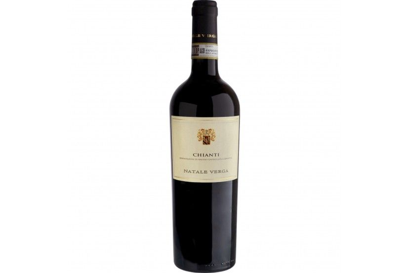 Red Wine Verga Chianti Doc 75 Cl