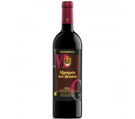 Red Wine Marques De Caceres Reserva 75 Cl