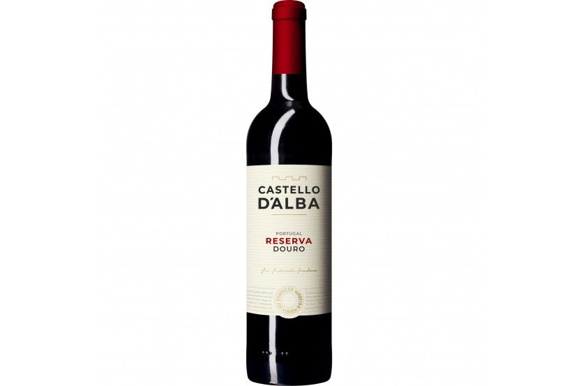 Red Wine Douro Castello D'Alba Reserva 75 Cl