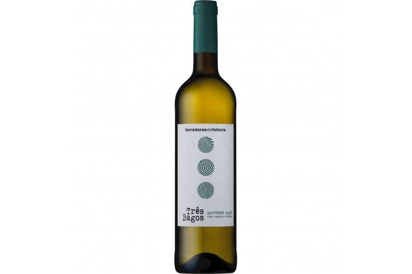 White Wine Douro Três Bagos Sauv. Blanc 75 Cl