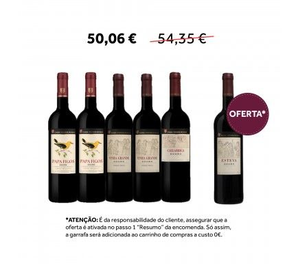 Pack Vinho Casa Ferreirinha