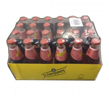 Tonic Water Schweppes Pink 25 Cl  -  (Pack 24)