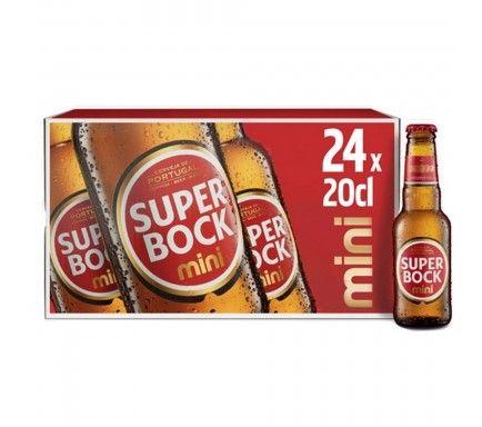 Cerveja Super Bock 20 Cl  -  (Pack 24)