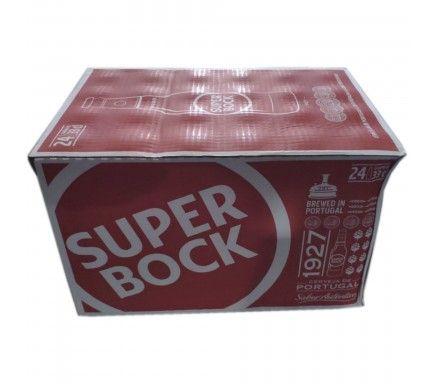 Cerveja Super Bock 33 Cl  -  (Pack 24)