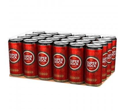 Cerveja Super Bock Lata 50 Cl  -  (Pack 24)