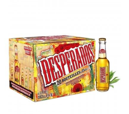 Beer Desperados 33 Cl  -  (Pack 24)