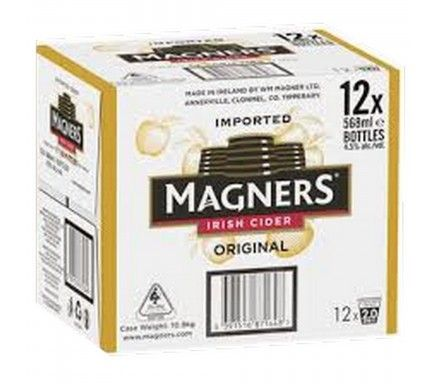 Cider Magners 568 Ml  -  (Pack 12)