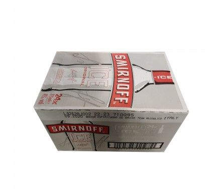 Vodka Smirnoff Ice 27,5 Cl  -  (Pack 24)