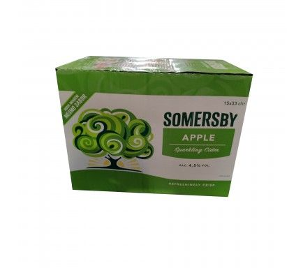 Cidra Somersby 33 Cl  -  (Pack 15)