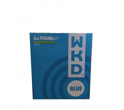 Vodka W.K.D. Blue 70 Cl  -  (Pack 6)