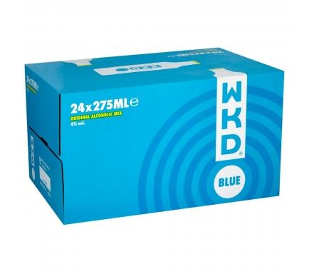 Vodka W.K.D. Blue 27,5 Cl  -  (Pack 24)