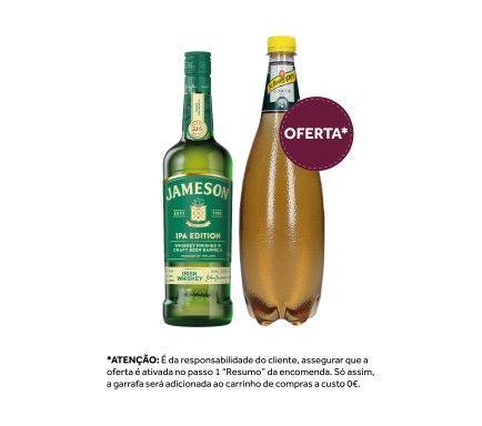 Whisky Jameson Caskmates Ipa 70 Cl Com Oferta Schweppes Ginger Ale 1 L