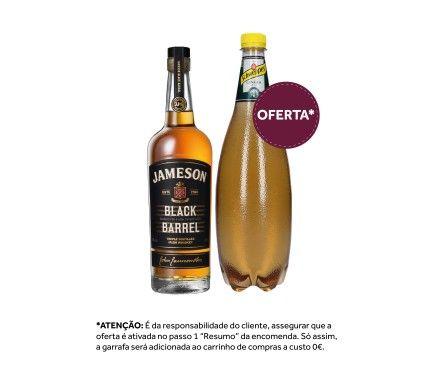 Whisky Jameson Black Barrel 70 Cl Com Oferta Schweppes Ginger Ale 1 L