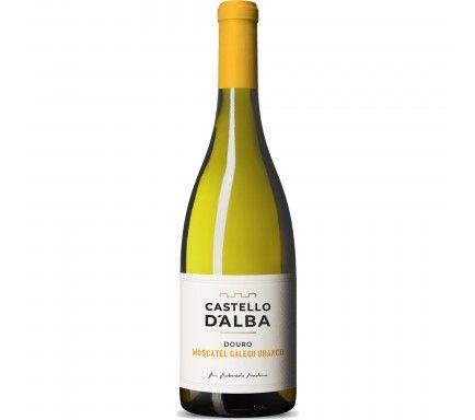 White Wine Douro Castello D'Alba Moscatel 75 Cl