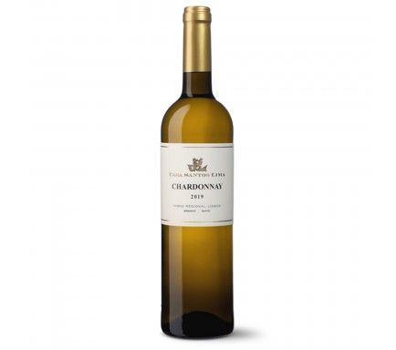 Vinho Branco Casa Santos Lima Chardonnay 75 Cl