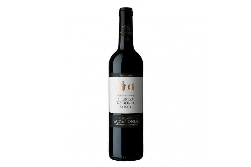 Vinho Tinto Paço Do Conde Touriga Nacional e Syrah 75 Cl
