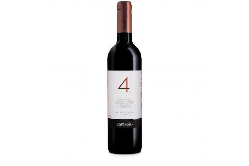 Vinho Tinto Esporão Quatro Castas 75 Cl