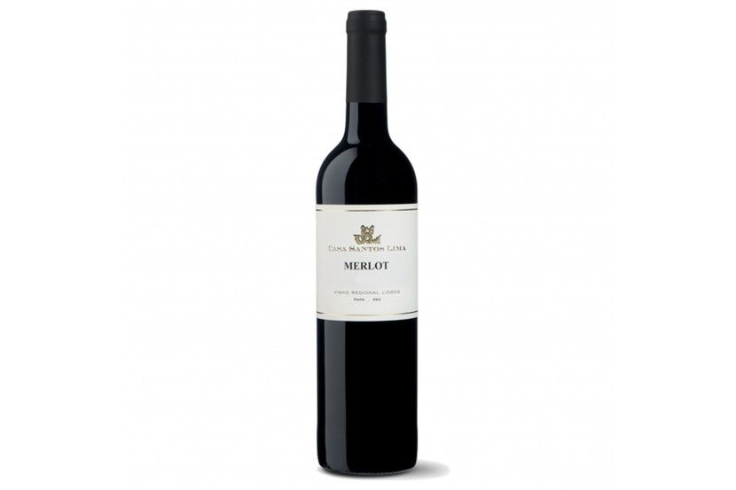 Red Wine Casa Santos Lima Merlot 75 Cl