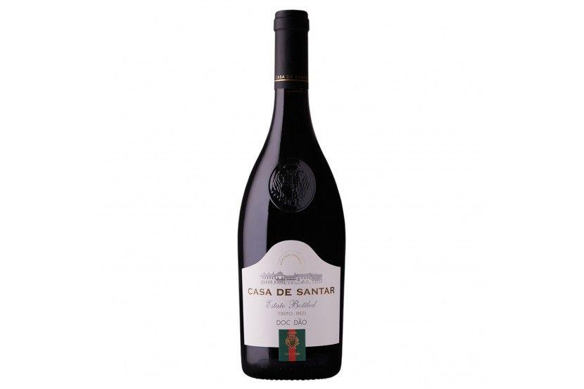 Vinho Tinto Dão Casa De Santar 75 Cl