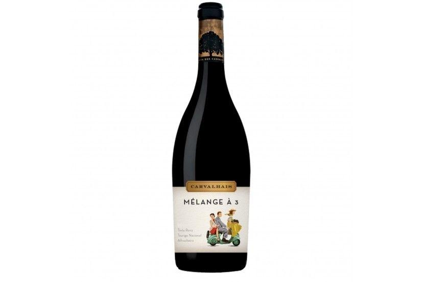 Vinho Tinto Dão Quinta Carvalhais Melange a 3 75 Cl