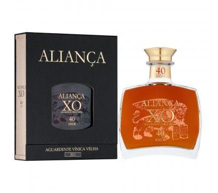 Aguardente Velha Aliança X.O 40 Anos 50 Cl