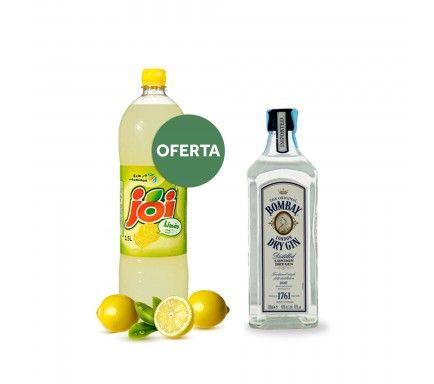 Gin Bombay Original 70 Cl Com Oferta Joi Limão 1.5 L
