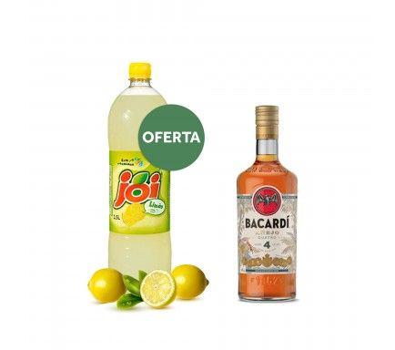 Rum Bacardi Cuatro 70 Cl Com Oferta Joi Limão 1.5 L