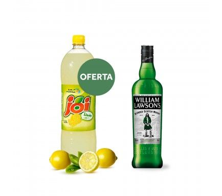 Whisky William Lawson's 70 Cl Com Oferta Joi Limão 1.5 L