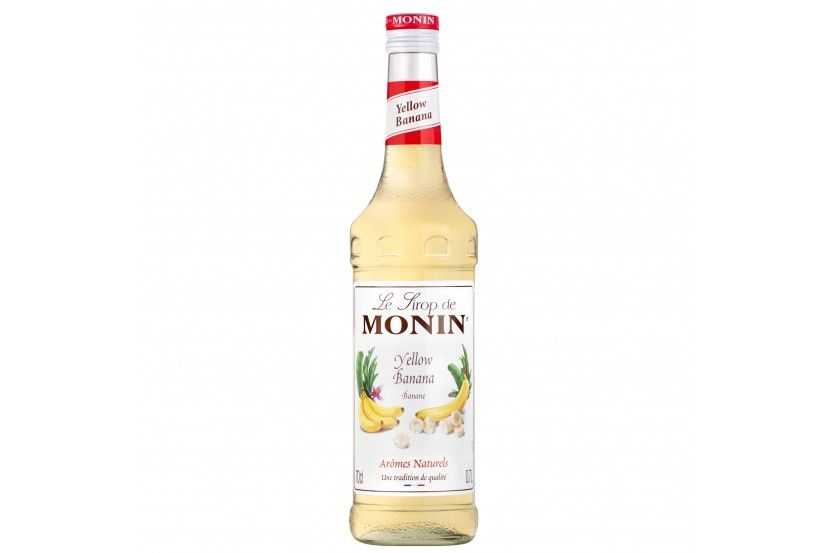 Monin Syrup Banana Jaune 70 Cl