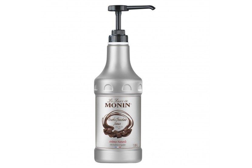 Monin Sauce Chocolate Negro 1.89 L