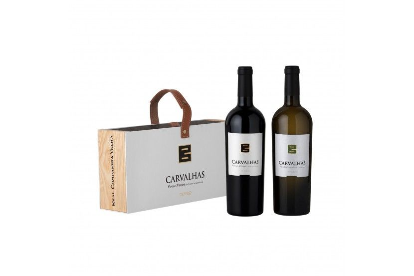 Pack Carvalhas 75 CL (1Red Wine + 1 White Wine )