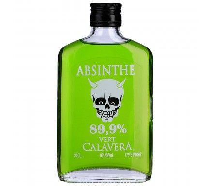 Absinthe Calavera Verde (89.9%) 20 Cl