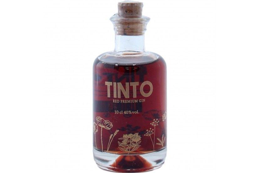 Mini Gin Tinto 10 Cl
