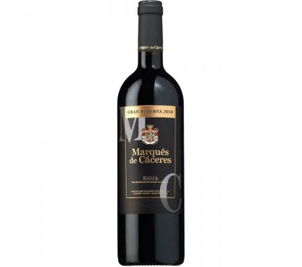 Red Wine Marques De Caceres Gran Reserva 75 Cl