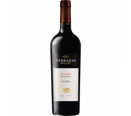Red Wine Terrazas Selection Malbec 2017 75 Cl