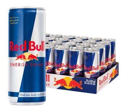 Red Bull Energy Drink Can 25Cl - (Pack 24)