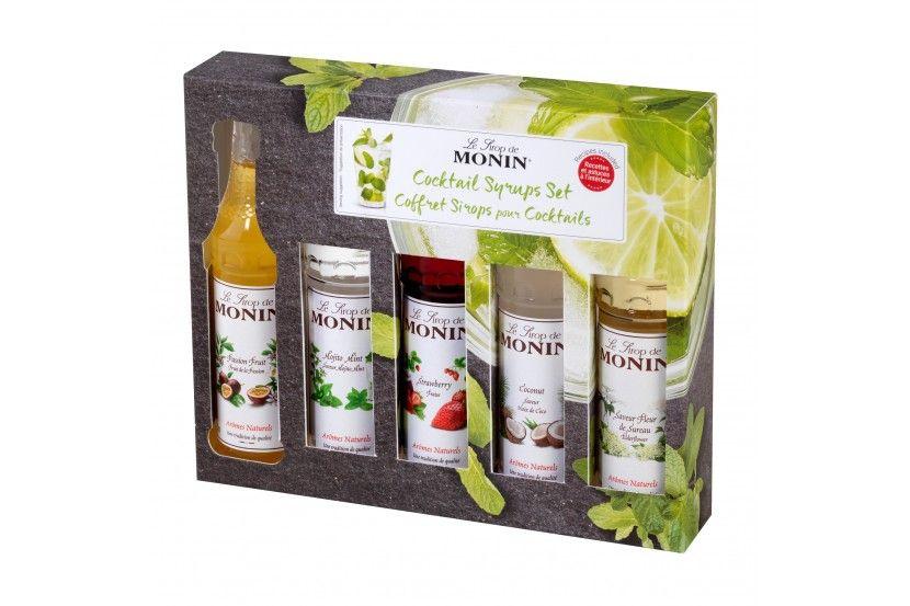 Monin Cocktail Set (5 x 5 Cl)