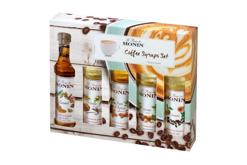Monin Coffee Set (5 x 5 Cl)