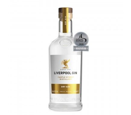 Gin Liverpool Organic Dry 70 Cl