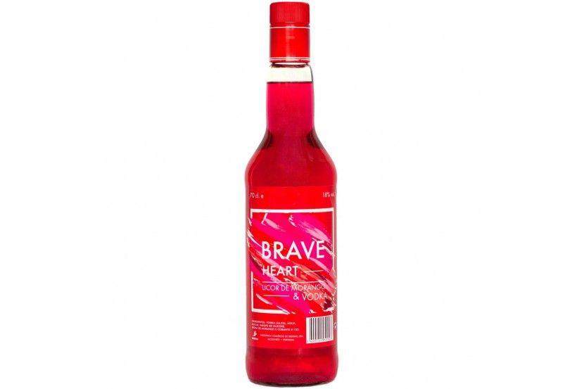 Vodka Braveheart Red 70 Cl