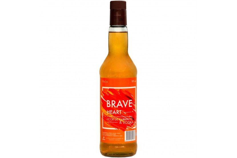 Vodka Braveheart Caramelo 70 Cl