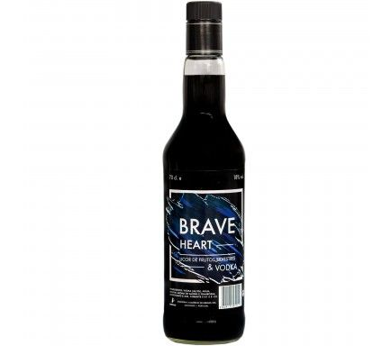 Vodka Braveheart Black 70 Cl