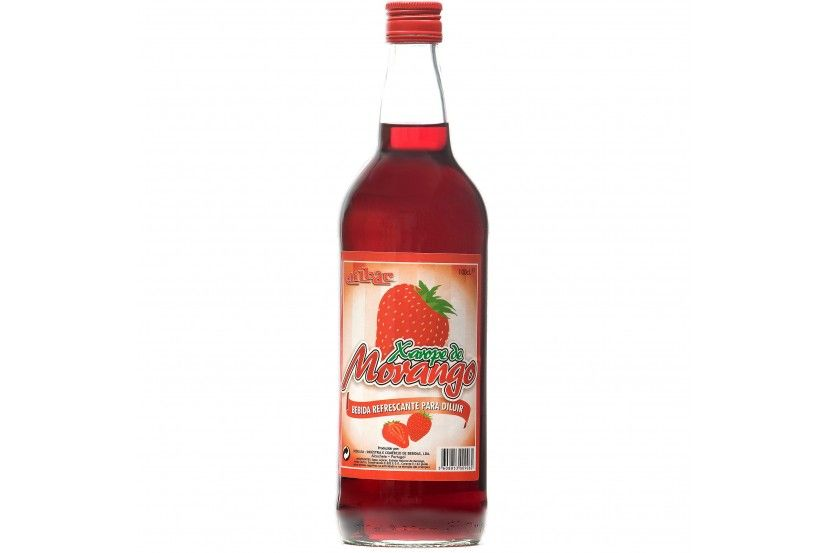 Strawberry Syrup Milbar 1 L