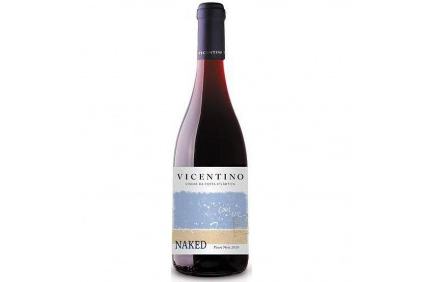 Red Wine  Vicentino Pinot Noir Naked 75 Cl