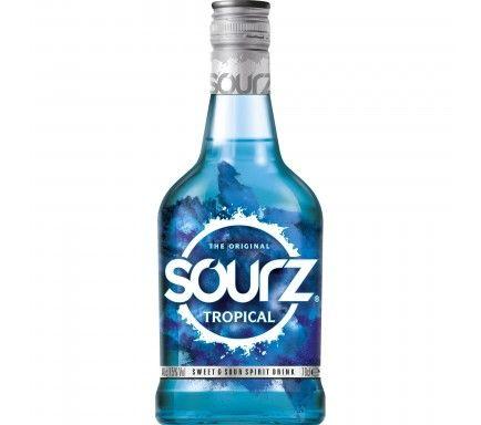 Licor Sourz Tropical Blue 70 Cl