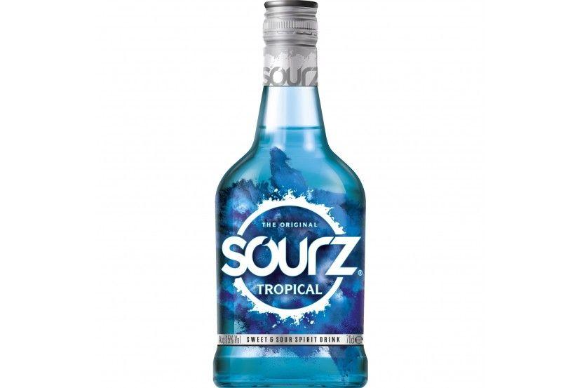 Liquor Sourz Tropical Blue 70 Cl