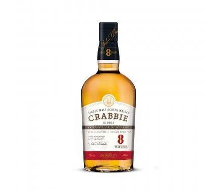 Whisky Malt Crabbie 8 Anos 70 Cl