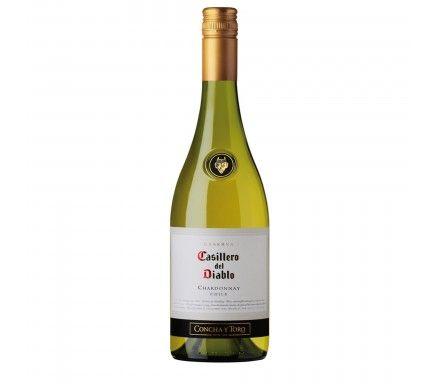 Vinho Branco Casillero Chardonnay 75 Cl