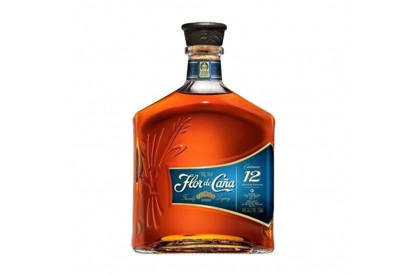 Rum Flor Cana 12 Anos 70 Cl